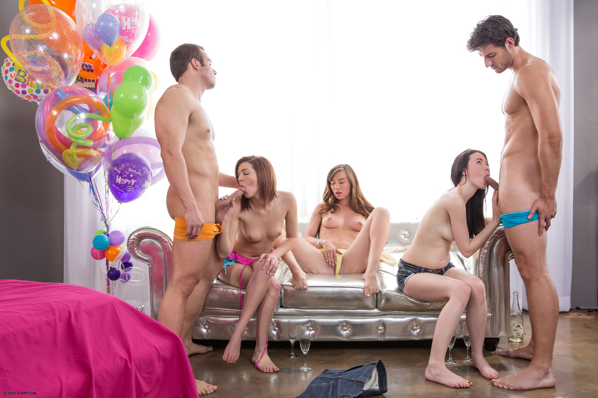 Drunk Teen Couple Party