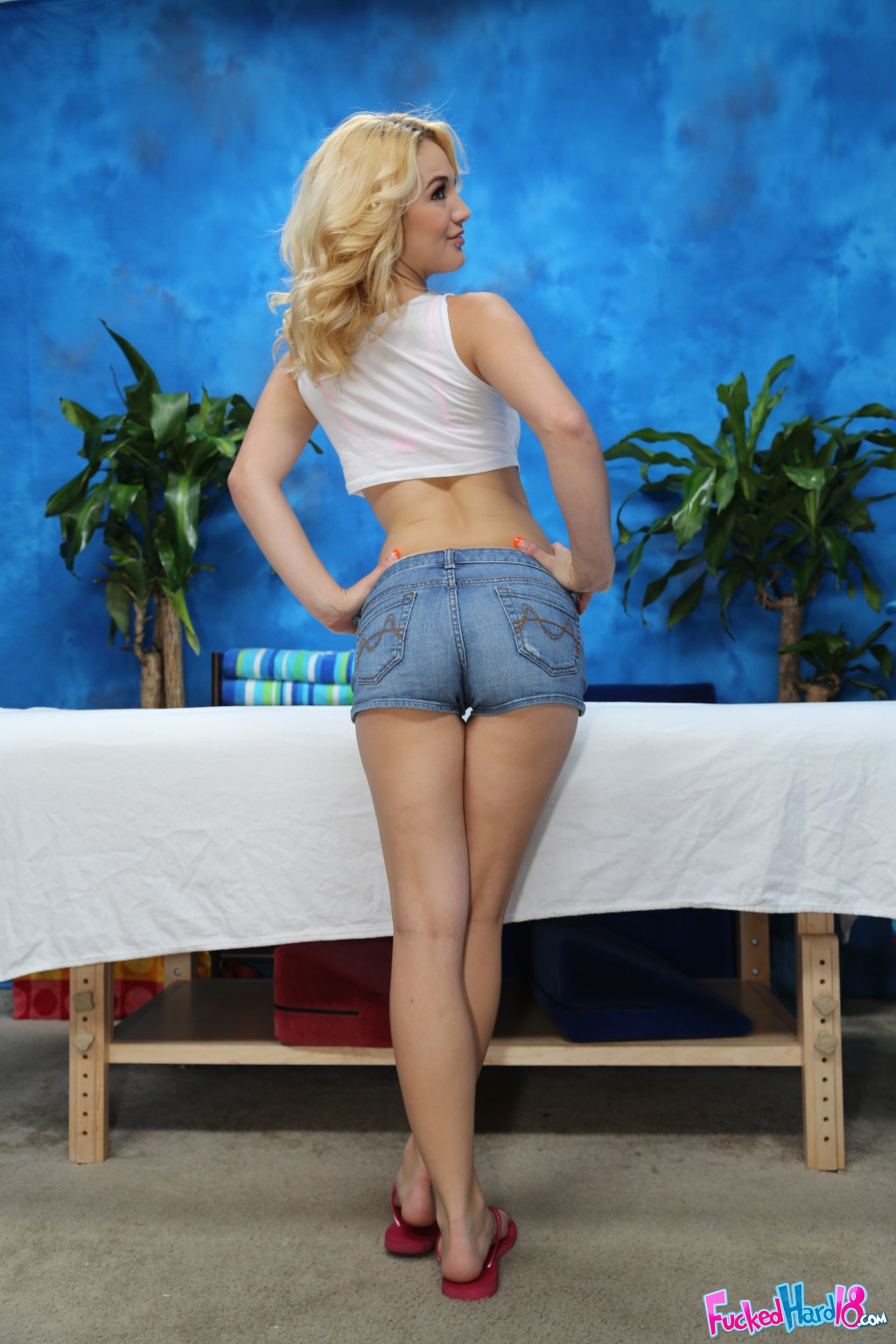 Hot Blonde Fucked Leggings