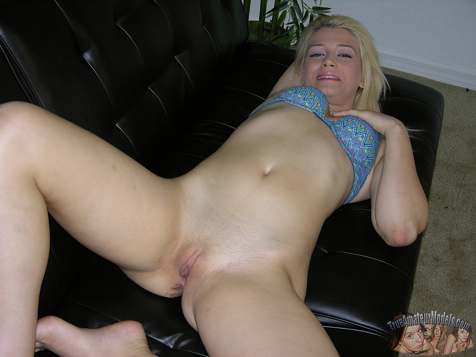French Teen Blonde Amateur